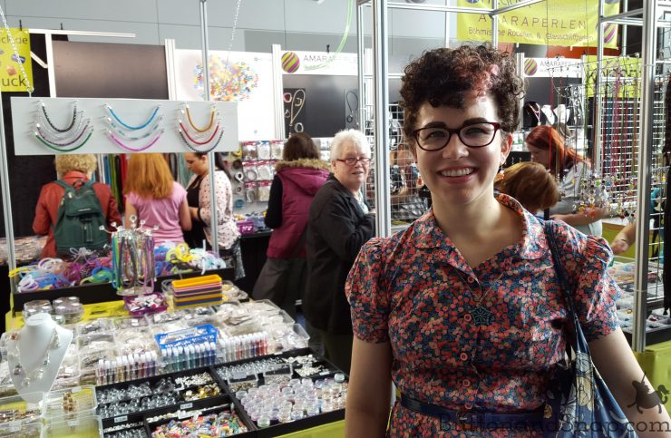 At the Bead Stand