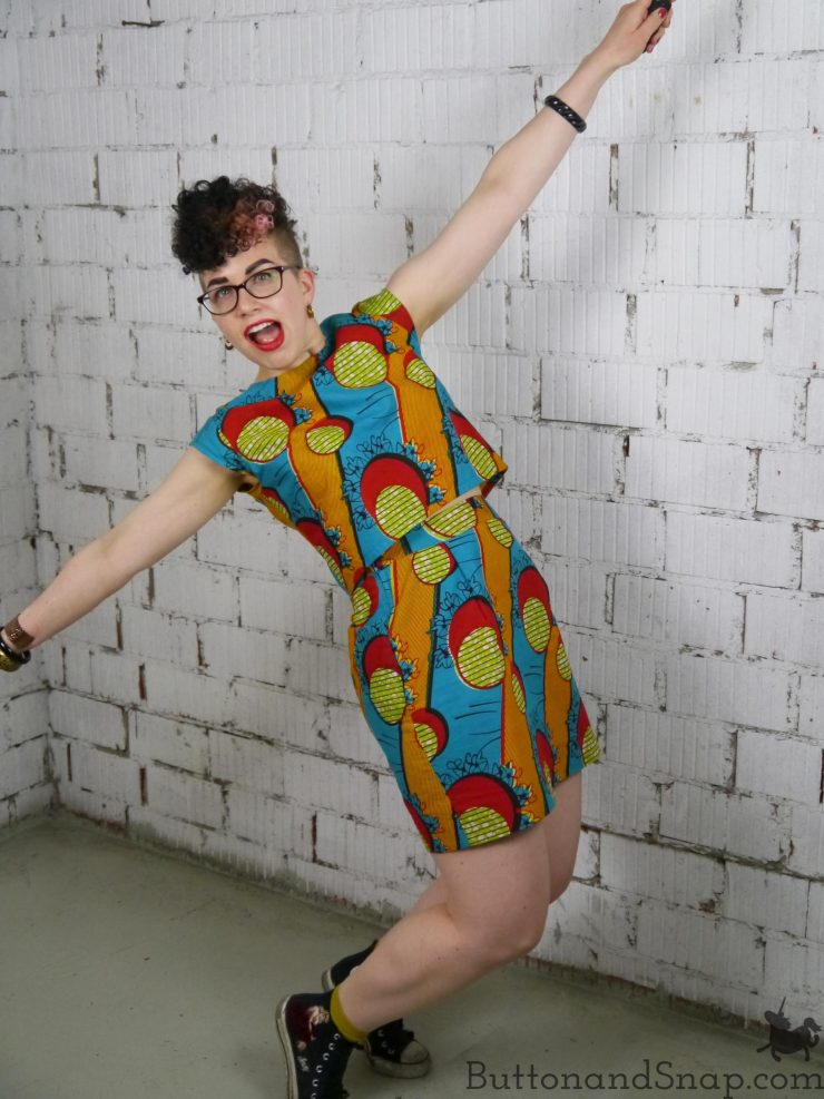 Two-piece dress jump