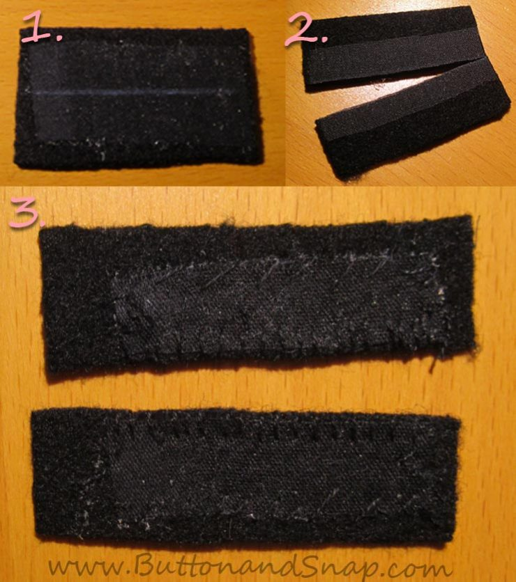 Interfacing, cutting and handstitching the lips of the bound buttonholes