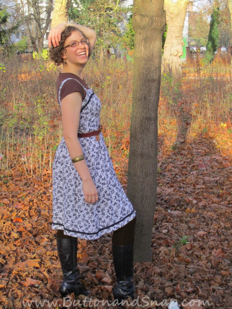 styling a sundress to transition into fall