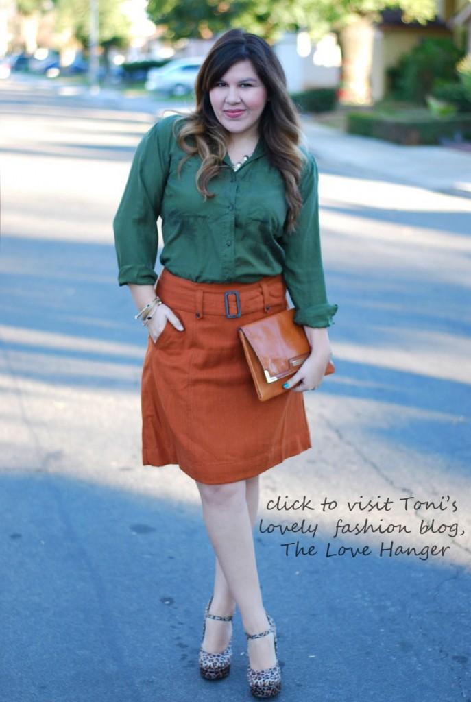 Bonus refasion - Target skirt before