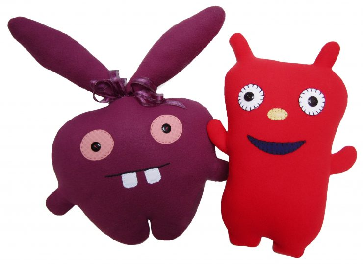 ugly dolls, sewing stuffed animals