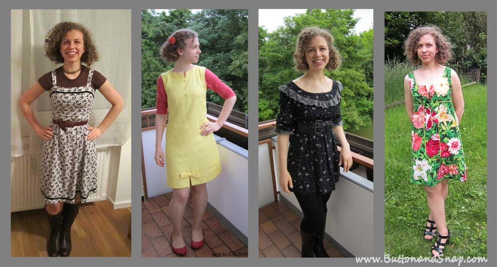 Me Made May 14 Dresses
