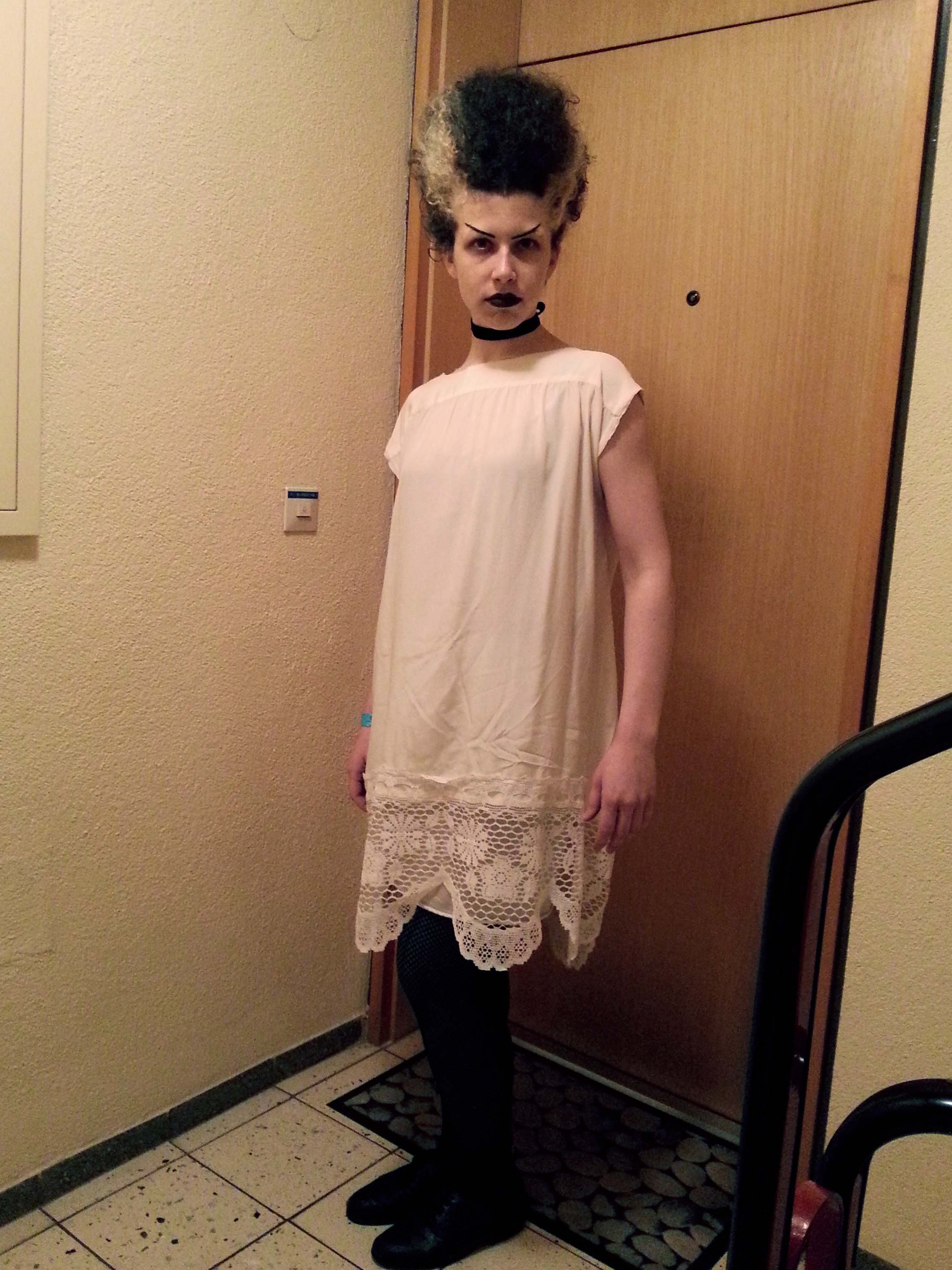 Bride of Frankenstein Costume Front