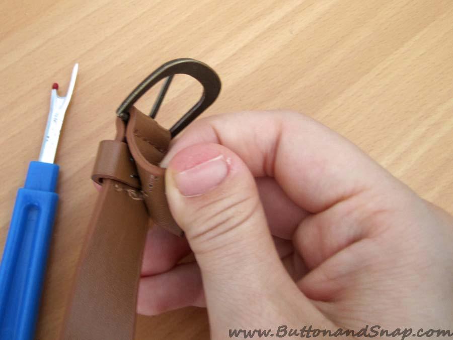 Belt step 1