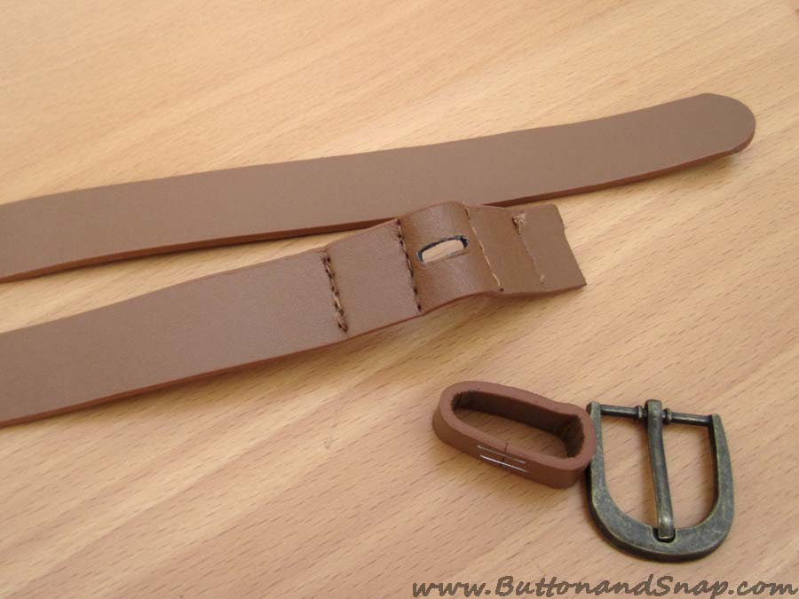 Belt step 2