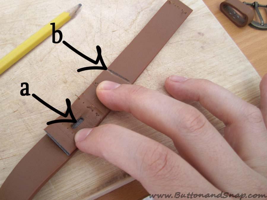 Belt step 5