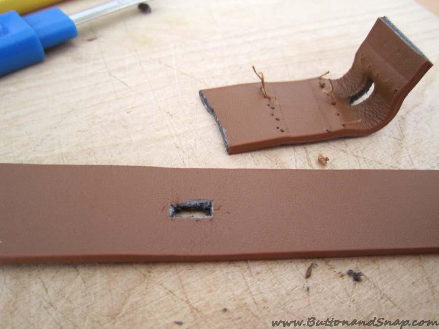 Belt step 6