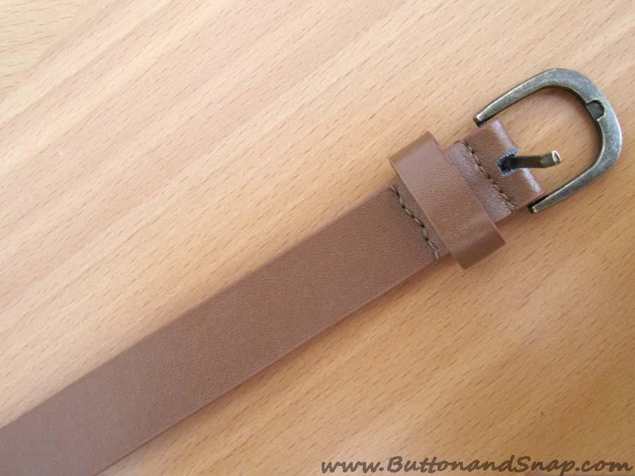 Belt step 7