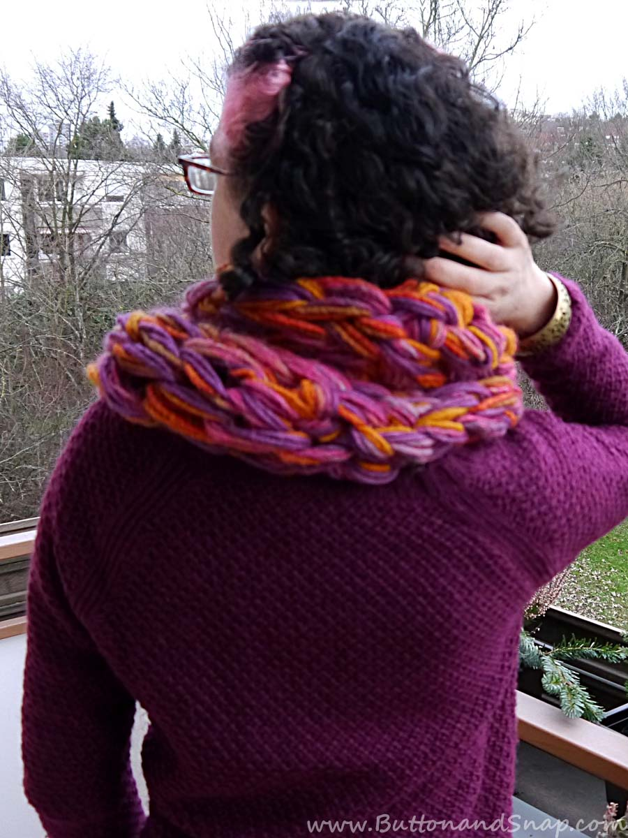 Sunset scarf back 1