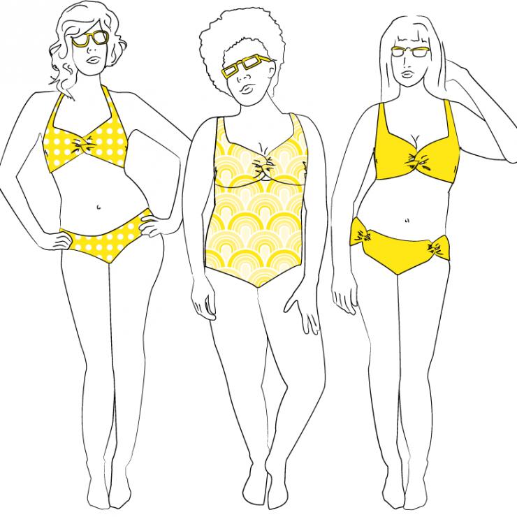 SeamstressErin Nautilus Swimsuit