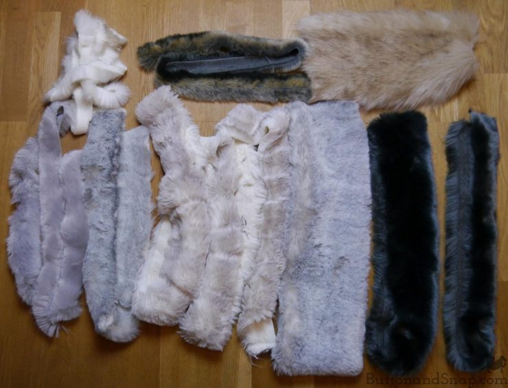 Fake fur haul
