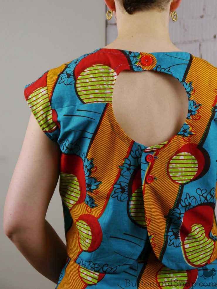 Two-piece dress back 1