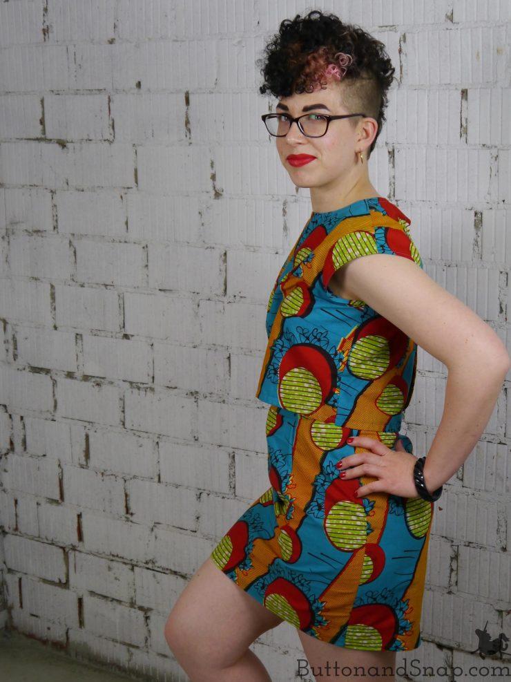 Two-piece dress side 1