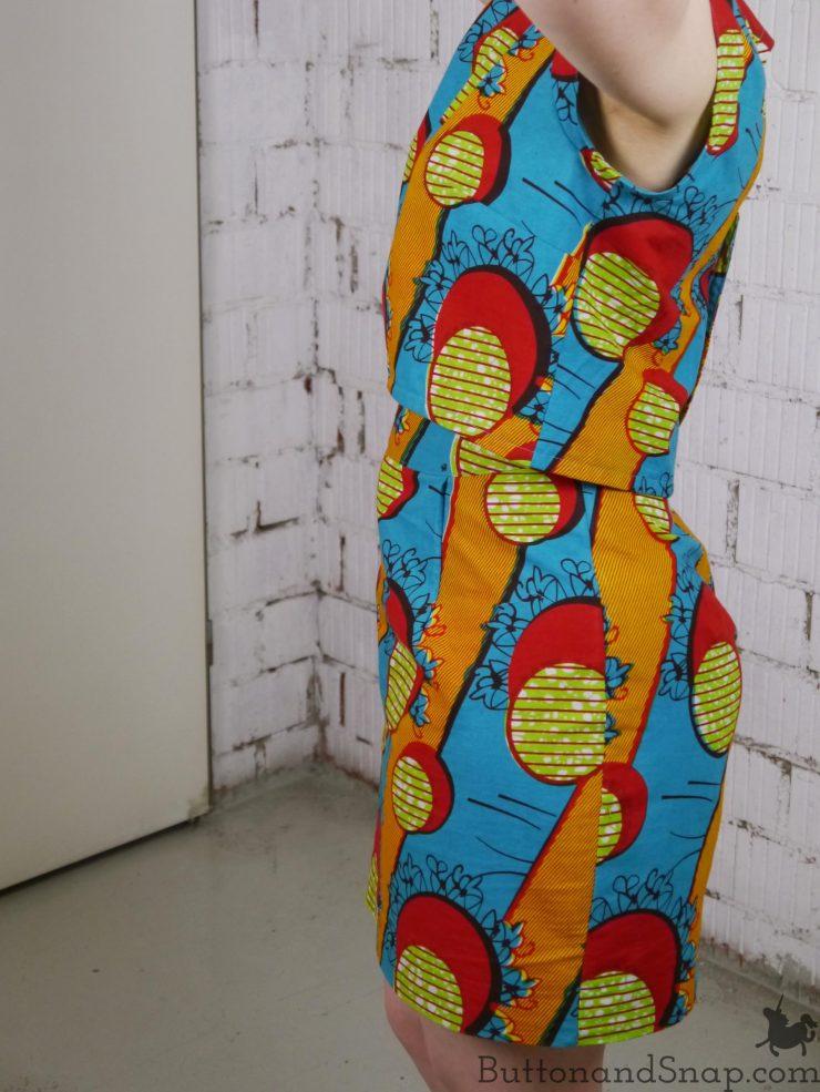 Two-piece dress side 2