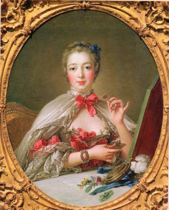 Madame_pompadour_decolletage