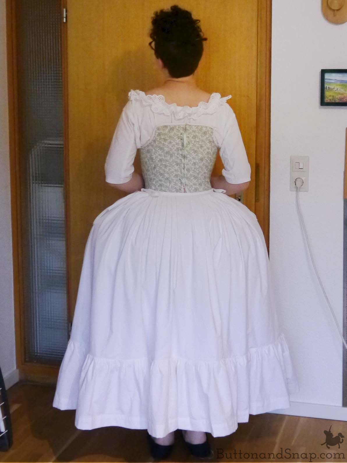 Second Janet Arnold Petticoat Back