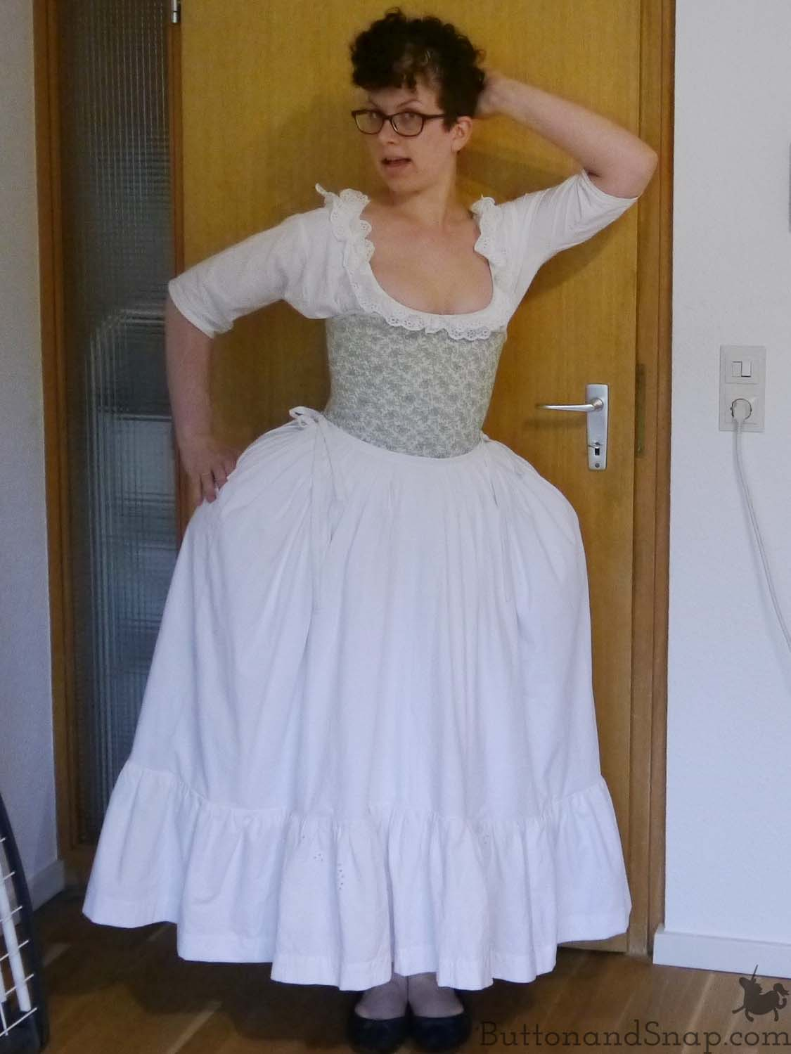 Second Janet Arnold Petticoat Front